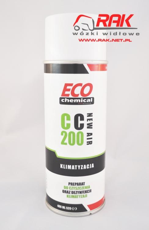 Preparat do dezynfekcji i czyszczenia klimatyzacji