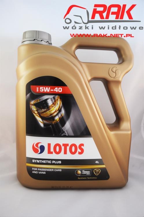 Olej LOTOS Syntetic 5W40 4l