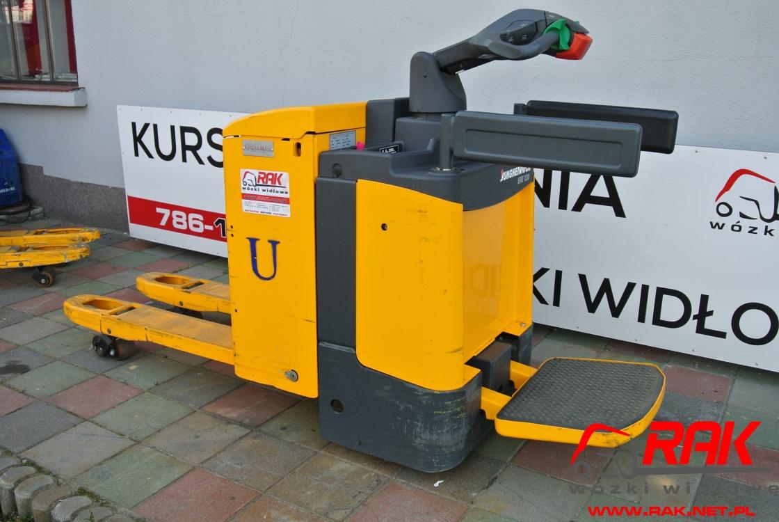 Wózek paletowy Jungheinrich ERE 120 platforma operatora - 2009r.