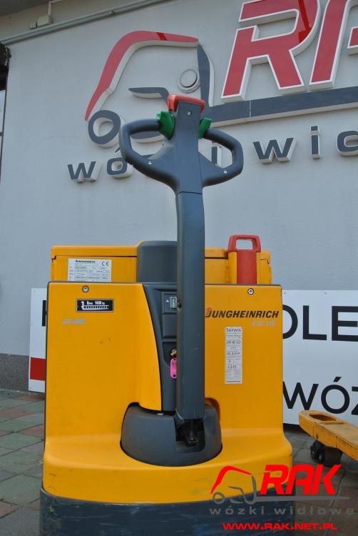 Wózek paletowy Jungheinrich EJE 116 - 2004r.