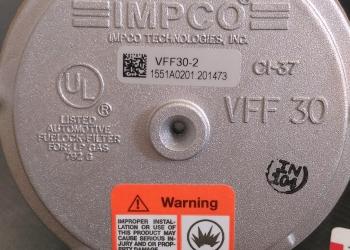 Filtr gazu IMPCO