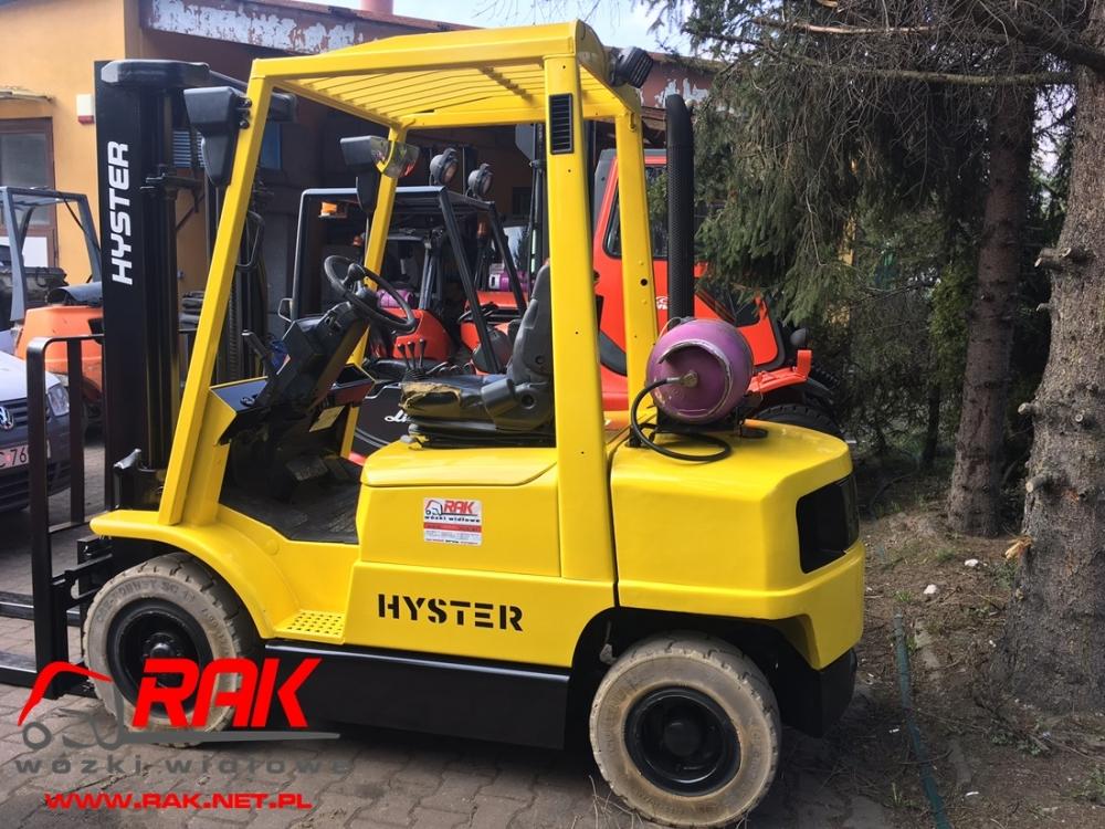 Wózek widłowy HYSTER H2.50XM - 2004r. GAZ