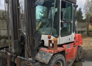 Wózek widłowy Kalmar DCD 50-6 - 2000r.