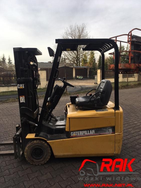 Wózek widłowy Catepillar EP16KT - 2002r. elektr.