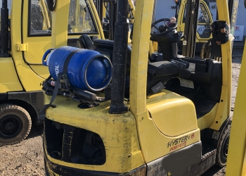 Wózek widłowy HYSTER H1.6FT - 2010r. GAZ