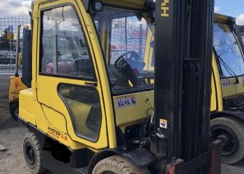 Wózek widłowy HYSTER H3.0FT - 2008r. GAZ