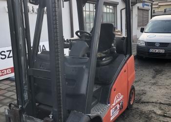 Wózek widłowy Linde H16T - 2009r. GAZ