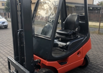 Wózek widłowy LINDE H16T - 2002r. GAZ