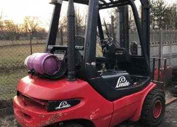 Wózek widłowy LINDE H30T - 1993r. GAZ
